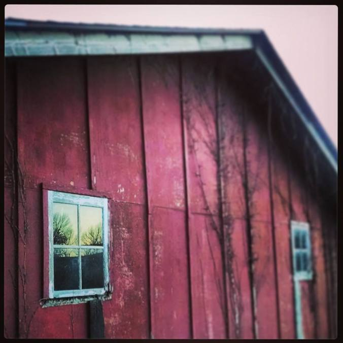 Barn side view